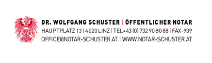 Dr. Wolfgang Schuster | Öffentlicher Notar